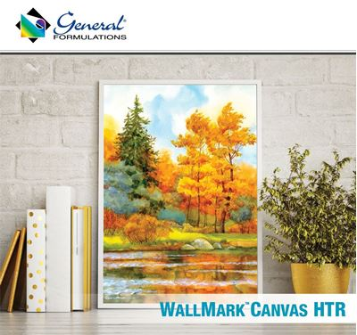 Picture of General Formulations 229 WallMark™ Canvas Vinyl HTR - 54in x 300ft