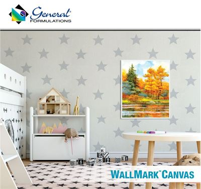 Picture of General Formulations 229 WallMark™ Canvas Vinyl