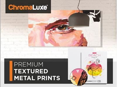 Picture of ChromaLuxe Textured Aluminum Photo Panels